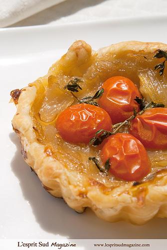 Pissaladière - The Provencal Onion Pie par Belles Images by Sandra A.