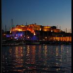 Marseille éclairé - depuis le Vieux Port par Patchok34 - Marseille 13000 Bouches-du-Rhône Provence France