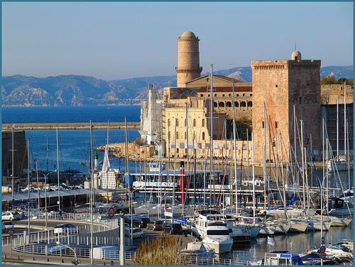 Fort Saint Jean à Marseille by Pantchoa