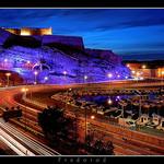 Fort Saint-Nicolas de nuit à Marseille par Fredorod - Marseille 13000 Bouches-du-Rhône Provence France