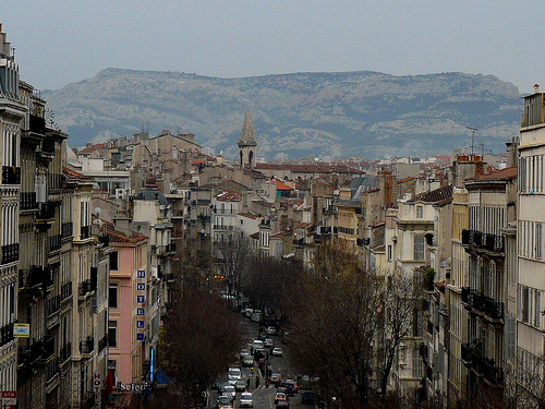 La montagne au dessus de Marseille par Antoine 2011