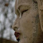 Statue : la Dame du Grand Escalier par Antoine 2011 - Marseille 13000 Bouches-du-Rhône Provence France