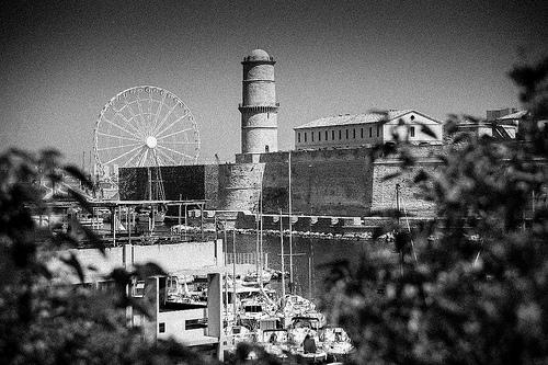 Marseille, B&W, 53 by Patrick RAYMOND
