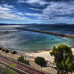 Plage de Corbire by  - Marseille 13000 Bouches-du-Rh&ocirc;ne Provence France
