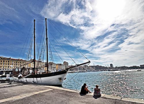 Marseille - le Vieux Port par choudoudou