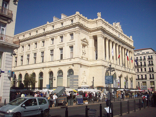 Bourse de commerce, La Canebière, Marseille by Only Tradition