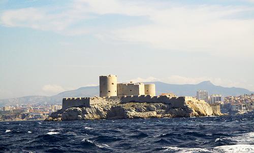 Château d'If, baie de Marseille by roderic alexis beyeler