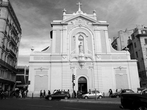 L'église Saint-Ferréol les Augustins  by roderic alexis beyeler