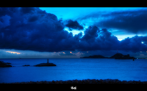 Blue(s) - les îles du frioul by Cilou101