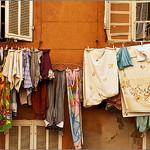 Marseille rustique : linge à sécher par jenrif - Marseille 13000 Bouches-du-Rhône Provence France