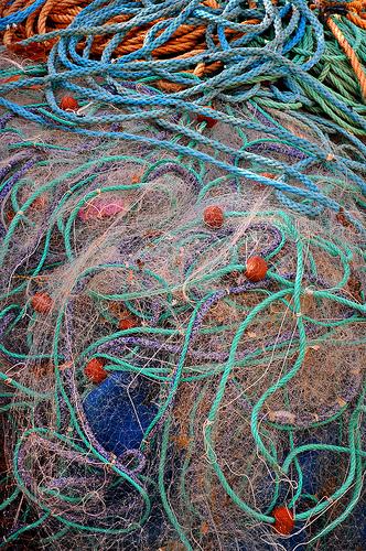 Filets de pêche - Les Goudes - Calanques par Charlottess