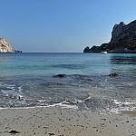 Cassis, plage de la calanque de Sormiou by Patrick.Raymond - Cassis 13260 Bouches-du-Rhône Provence France