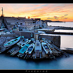 Anse de Malmousque, petit port de Marseille par Fredorod - Marseille 13000 Bouches-du-Rhône Provence France