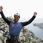 Leaning into the void - Calanques de Morgiou by schoeband - Marseille 13000 Bouches-du-Rhône Provence France