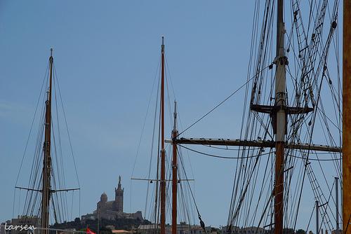 Marseille - Le Vieux Port by larsen & co
