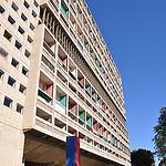 Cité Radieuse - par l'architecte Le Corbusier - Marseille  by  - Marseille 13000 Bouches-du-Rhône Provence France