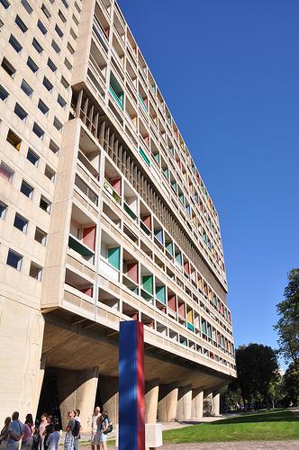 Cité Radieuse - par l'architecte Le Corbusier - Marseille  by salva1745