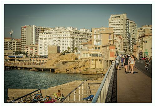 Fin d'été à Marseille. Late summer in Marseille by Alain Taillandier