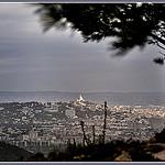 La ville de Marseille par temps d'orage par Charlottess - Marseille 13000 Bouches-du-Rhône Provence France