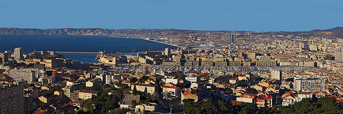 Vue sur Marseille et la rade de Marseille par SeldenVestrit