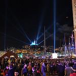 Notre Dame de la Garde drapée de lumière - Marseille 2013 : Opening Night par polbar - Marseille 13000 Bouches-du-Rhône Provence France