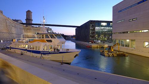 Port de Marseille - Mucem par anata39