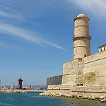 Fort Saint-Jean - Vieux Port de Marseille by  - Marseille 13000 Bouches-du-Rhône Provence France