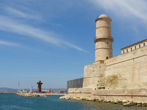 Fort saint jean vieux port de marseille marseille - Navette vieux port pointe rouge marseille ...
