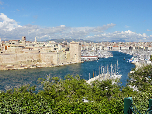 Vieux port de Marseille - Le Pharo by Hélène_D