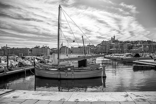 Port de Marseille by tribalfunky