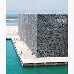 Le bloc / facade du musée Mucem par Dbredel81 - Marseille 13000 Bouches-du-Rhône Provence France