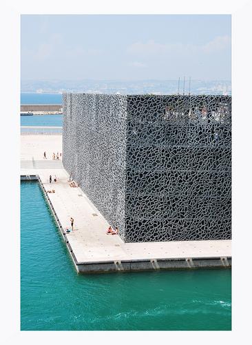 Le bloc / facade du musée Mucem by Dbredel81