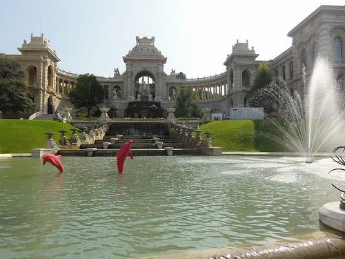 Marseille Provence 2013 -  Le Palais Longchamp & Le Funny Zoo by Hélène_D