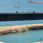 Passerelle du MuCEM à Marseille par FranceParis92 - Marseille 13000 Bouches-du-Rhône Provence France