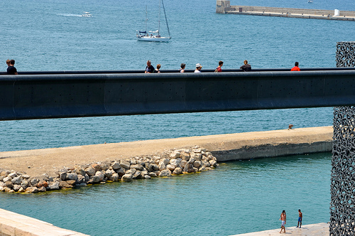 Passerelle du MuCEM à Marseille par FranceParis92