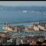 Marseille le Vieux Port par Patchok34 - Marseille 13000 Bouches-du-Rhône Provence France