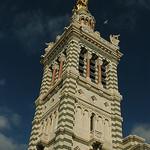 Notre Dame de la Garde à Marseille par Patchok34 - Marseille 13000 Bouches-du-Rhône Provence France