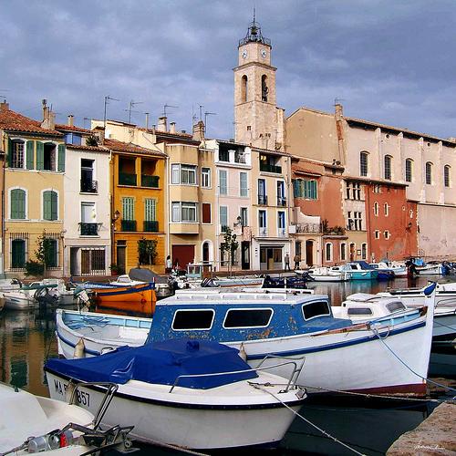 VIeux port et clocher de Martigues par alain bordeau 2