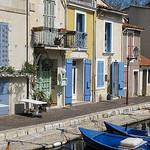 Maisonettes sur le port de Martigues par mistinguette18 - Martigues 13500 Bouches-du-Rhône Provence France