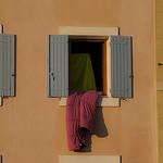 [Martigues] Linge à la fenêtre par FredArt - Martigues 13500 Bouches-du-Rhône Provence France