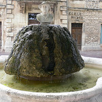 Fontaine de Frédéric Mistral par jean25420 - Paradou 13520 Bouches-du-Rhône Provence France