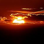 Coucher de Soleil sur le Canigou depuis le Concors par bruno Carrias - Peyrolles-en-Provence 13860 Bouches-du-Rhône Provence France