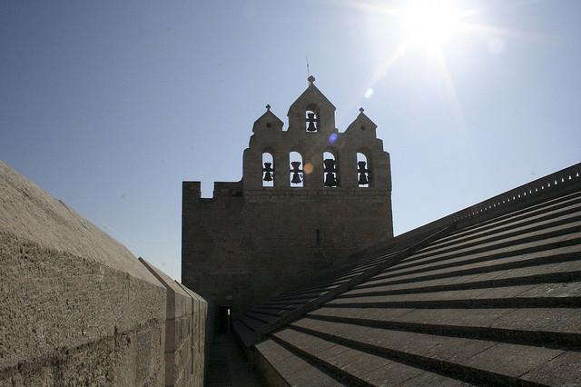 On the Church Roof of Saintes Maries de la Mer (Bouches-du-Rhône - Saintes Maries de la Mer) by Elmo Blatch
