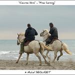 Course libre sur la plage / Free horsing par Michel Seguret - Saintes Maries de la Mer 13460 Bouches-du-Rhône Provence France