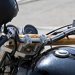 La baguette à moto par Massimo Battesini - Saintes Maries de la Mer 13460 Bouches-du-Rhône Provence France