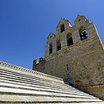 Sur le toit de l'église de Saintes Maries de la mer - Capitale de la Camargue by Massimo Battesini - Saintes Maries de la Mer 13460 Bouches-du-Rhône Provence France