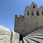 Clocher des Saintes Maries de la mer - Capitale de la Camargue par Massimo Battesini - Saintes Maries de la Mer 13460 Bouches-du-Rhône Provence France