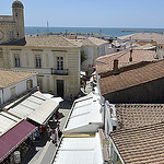 Vue vers la mer - Saintes Maries de la mer - Capitale de la Camargue par  - Saintes Maries de la Mer 13460 Bouches-du-Rhône Provence France