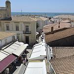 Vue vers la mer - Saintes Maries de la mer - Capitale de la Camargue par Massimo Battesini - Saintes Maries de la Mer 13460 Bouches-du-Rhône Provence France