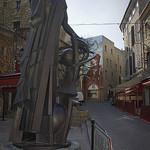 Statue : Nostradamus par cpqs - Salon de Provence 13300 Bouches-du-Rhône Provence France